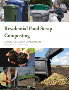 Residential composting cover
